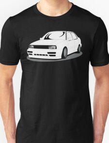 MK3 Jetta Graphic White T-Shirt
