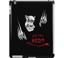 Da red wunz go fasta! iPad Case/Skin
