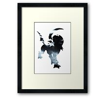Absol used Feint Attack Framed Print
