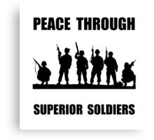 Superior Soldiers Canvas Print