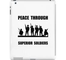 Superior Soldiers iPad Case/Skin