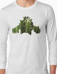Cacnea used Needle Arm Long Sleeve T-Shirt