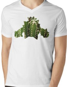 Cacnea used Needle Arm Mens V-Neck T-Shirt