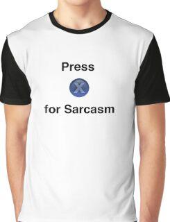 Fallout Sarcasm Tee Graphic T-Shirt