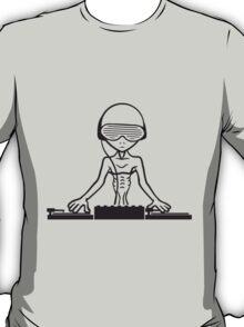 Cool DJ Party Musik Club Alien T-Shirt