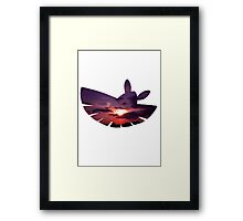 Dustox used Silver Wind Framed Print