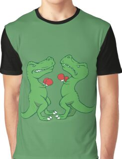 T-Rex Boxing Graphic T-Shirt