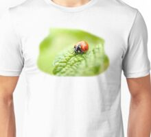ladybug red green Unisex T-Shirt