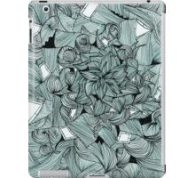 Floral Abstract Line Design iPad Case/Skin