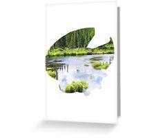 Lotad used Absorb Greeting Card