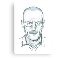 Walter White Canvas Print