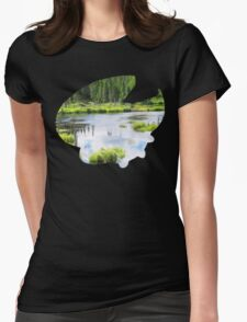 Lotad used Absorb Womens Fitted T-Shirt