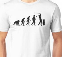 Evolution Of Man and Golf Unisex T-Shirt