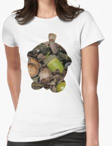 Seedot used Nature Power Womens Fitted T-Shirt