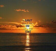 Sunset - new start by isipisi