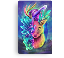 Crystal Deer Canvas Print
