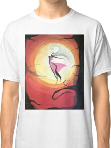 dancer in the sunset Classic T-Shirt