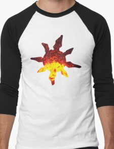 Solrock used Fire Spin Men's Baseball ¾ T-Shirt