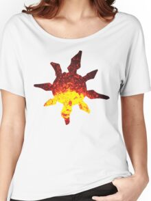 Solrock used Fire Spin Women's Relaxed Fit T-Shirt