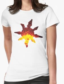 Solrock used Fire Spin Womens Fitted T-Shirt