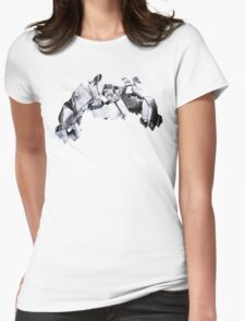 Metagross used Meteor Mash Womens Fitted T-Shirt
