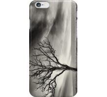 tree thunder sky clouds iPhone Case/Skin