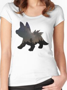 Poochyena used Assurance Women's Fitted Scoop T-Shirt