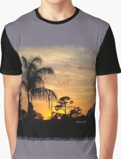 Fast Moving Clouds at Sunset Graphic T-Shirt