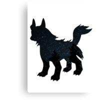 Mightyena used Dark Pulse Canvas Print
