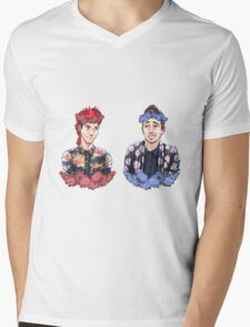 Tyler Joseph and Josh Dun Mens V-Neck T-Shirt