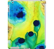 New Life - Green and Blue Art by Sharon Cummings iPad Case/Skin