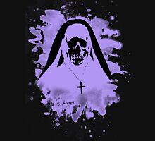 Scary Nun – violet Unisex T-Shirt