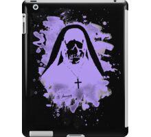 Scary Nun – violet iPad Case/Skin