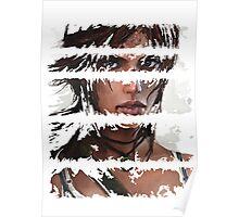 Lara Croft Torn Poster