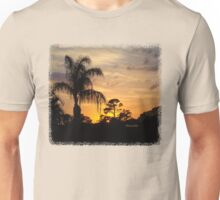 Fast Moving Clouds at Sunset Unisex T-Shirt
