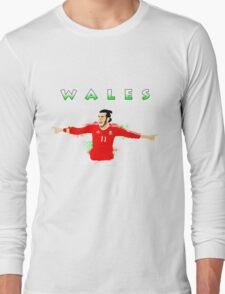 WALES : GARETH BALE Long Sleeve T-Shirt