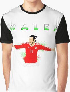 WALES : GARETH BALE Graphic T-Shirt