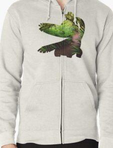 Tropius used Leaf Storm Zipped Hoodie