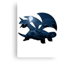 Salamence used Dragon Tail Canvas Print