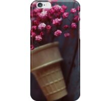 flower cone II iPhone Case/Skin