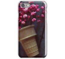 flower cone II iPhone Case/Skin