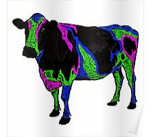 Mad cow disease. Poster
