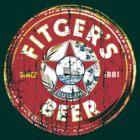 Vintage beer Label by adamcampen