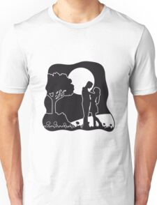 full moon liebespaar nature Unisex T-Shirt