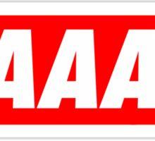 Yaaas Obey Sticker
