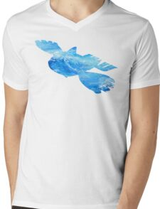 Kyorge used Water Spout Mens V-Neck T-Shirt