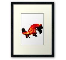 Groudon used Earthquake Framed Print