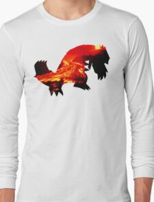 Groudon used Earthquake Long Sleeve T-Shirt