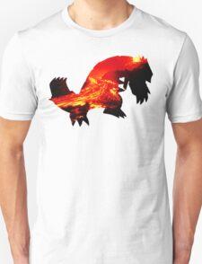 Groudon used Earthquake Unisex T-Shirt