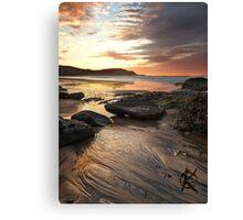 Frazer beach sunrise Canvas Print
